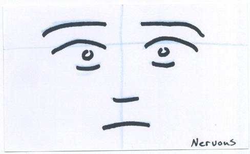 CardSmilies Nervous