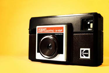Kodak Instamatic X-15F by davidhdz