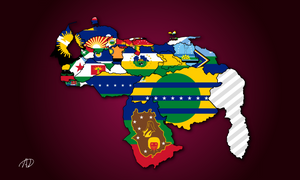Venezuela Map by davidhdz