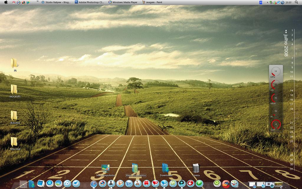 Desktop - July 08