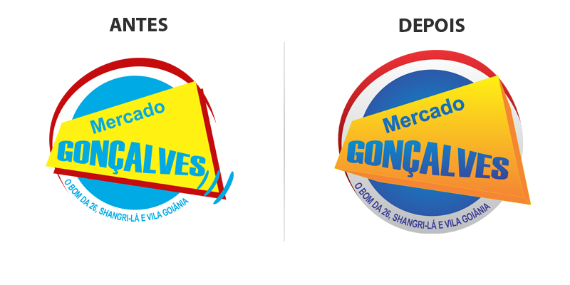 Remake - Logo Mercado Gonçalves