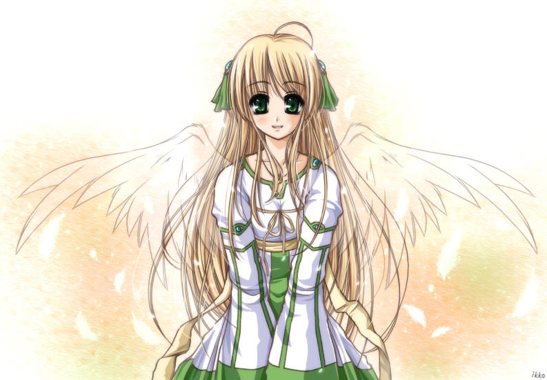 .Mar 24. Angel - Colored by ikko