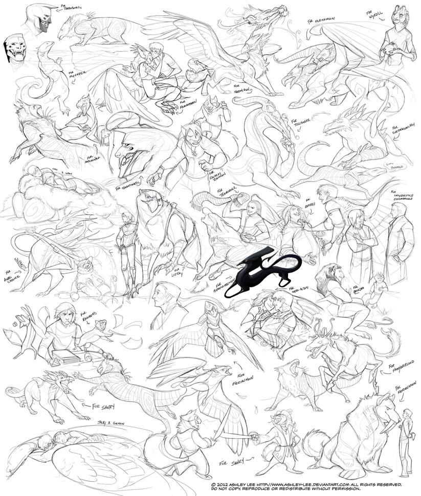 Doodles 14 by GreekCeltic