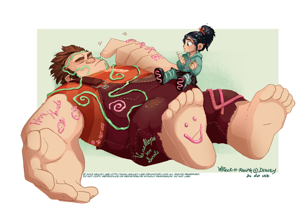 Ralph and Vanellope by GreekCeltic