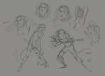 Jacky Sketches