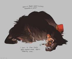 Jacky Ask 1 Big dumb cat
