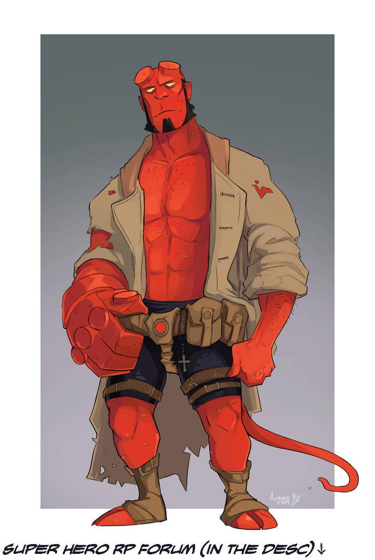 Hellboy by GreekCeltic