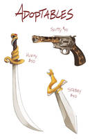 Adoptable Weapons