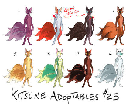 Kitsune Adoptables