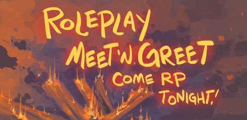 Campfire Meet 'n Greet Tonight