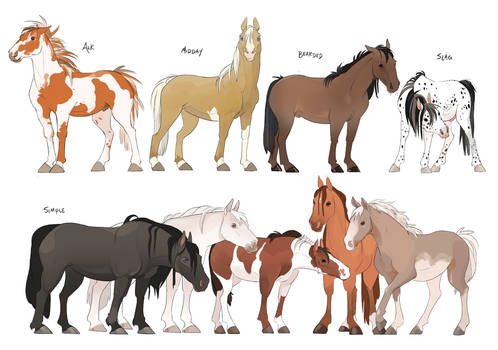 Gale's Horses