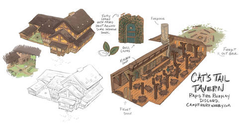 Cats Tail Tavern Layout