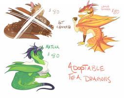 Adoptable Tea Dragons