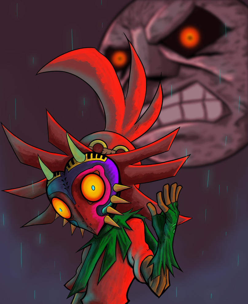 Majoras Mask: A Terrible Fate by Fonix187