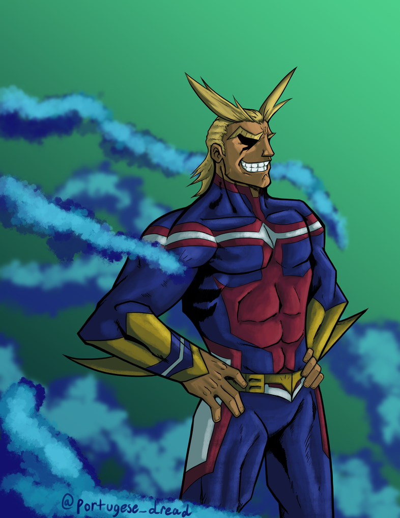 All Might by Fonix187