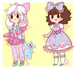 Sweet Lolita and Fairy Kei Adoptables [SOLD]