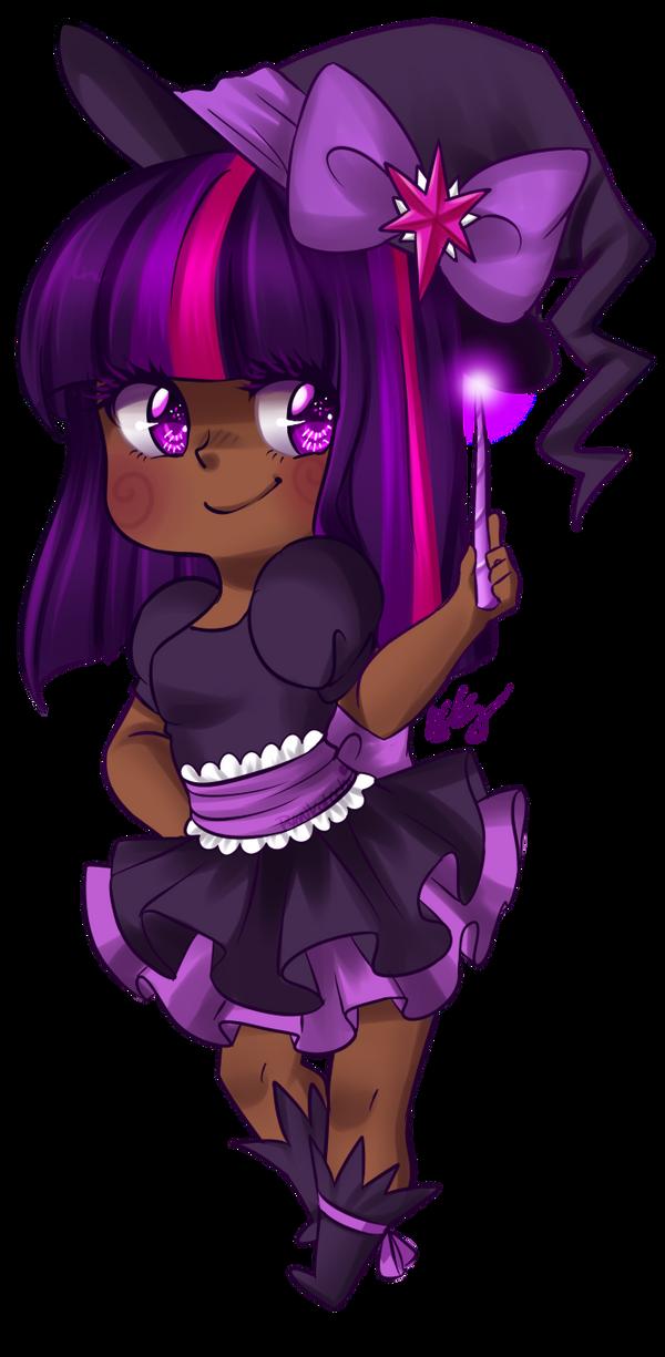 Twilight Sparkle Witch by Pyonkotcchi