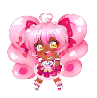 Diamond Heart Cheeb by PastelPyon