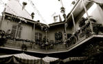 New Orleans Square B+W