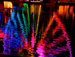 Rainbow Reflection by cokebottleglasses