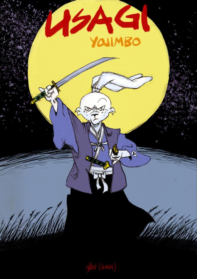 Usagi Yojimbo by glimmer22