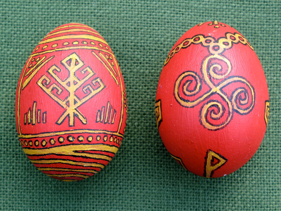 Eostre Eggs by Thorskegga