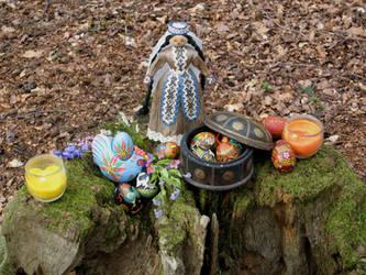 Eostre's Altar by Thorskegga