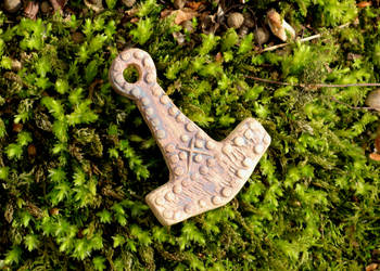 Clay Thor's Hammer by Thorskegga