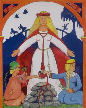 Lofn, Goddess of Love