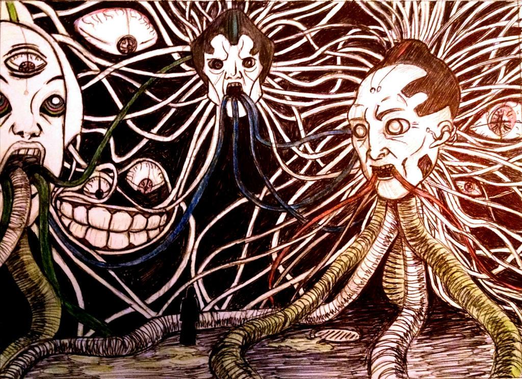 The Virus Speaks by theridonculesknights