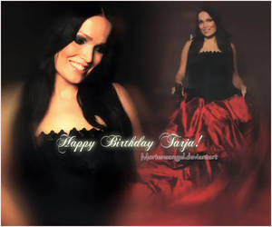 Happy Birthday Tarja!