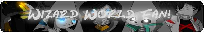 Wizard world Fanbutton by Azureanothertale