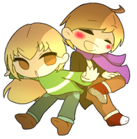 [Request] Kacey and Kayda Pagedoll by AzureArtworks