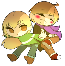 [Request] Kacey and Kayda Pagedoll by Azureanothertale