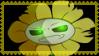 Garasu!Flowey Stamp by Azureanothertale