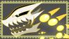Garasu!Sans blaster Stamp by Azureanothertale