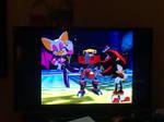 Sonic Heroes: Team Dark's Victory Pose