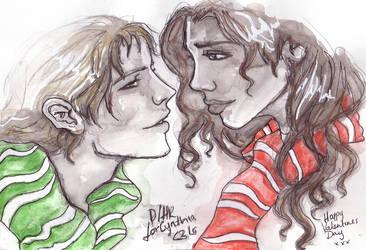 Draco Hermione by comfortablylaura