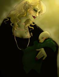 Malfoy awwing by comfortablylaura