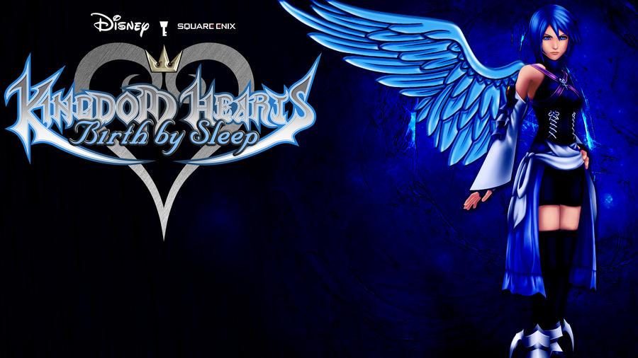Kingdom Hearts Aqua Wallpaper Birth by Sleep Wallpap...