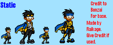 Static Sprites by Raded-Raikage