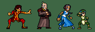 Avatar sprites by Raded-Raikage