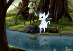 Fishing (Ori and the will of the wisps)