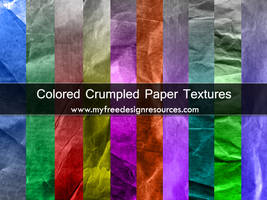 Colored Paper Textures by Mentalhead