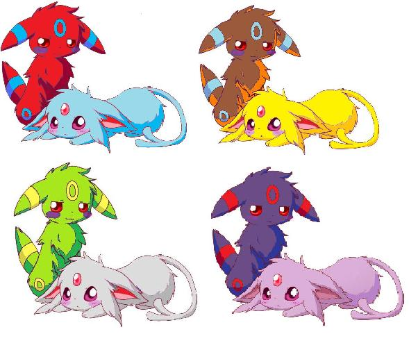 Pokemon Umbreon And Espeon Comic - Hot Girls Wallpaper