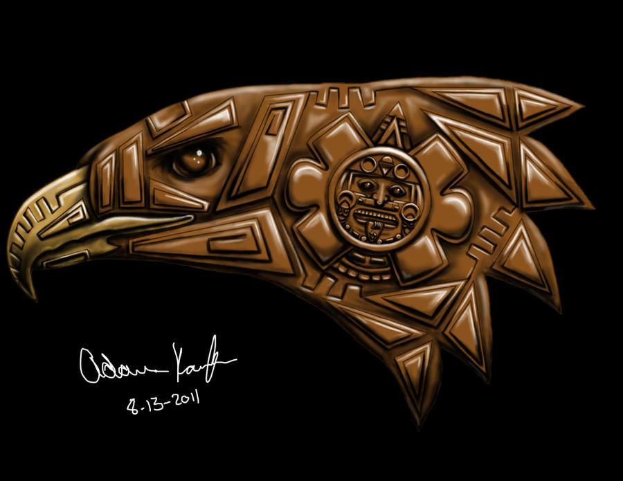 Eagle Aztec by Karaffa08