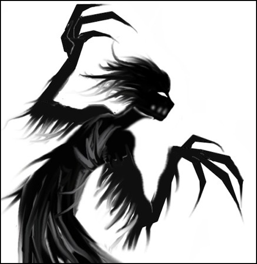 shadow demon� theyre watching you hunter inspiration