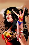 Wonder Woman Hughes Tribute