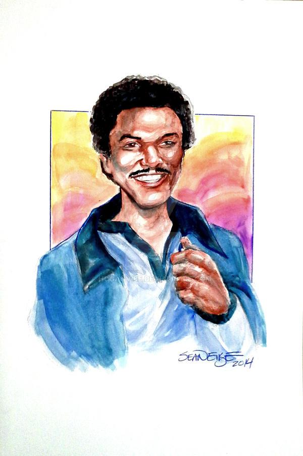 Lando Calrissian by hoganvibe