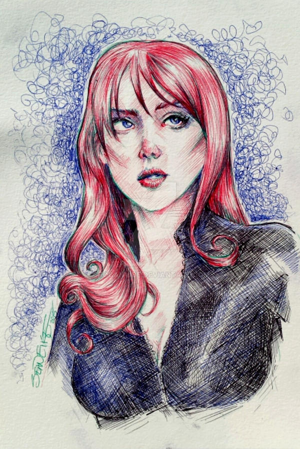 Black Widow by hoganvibe